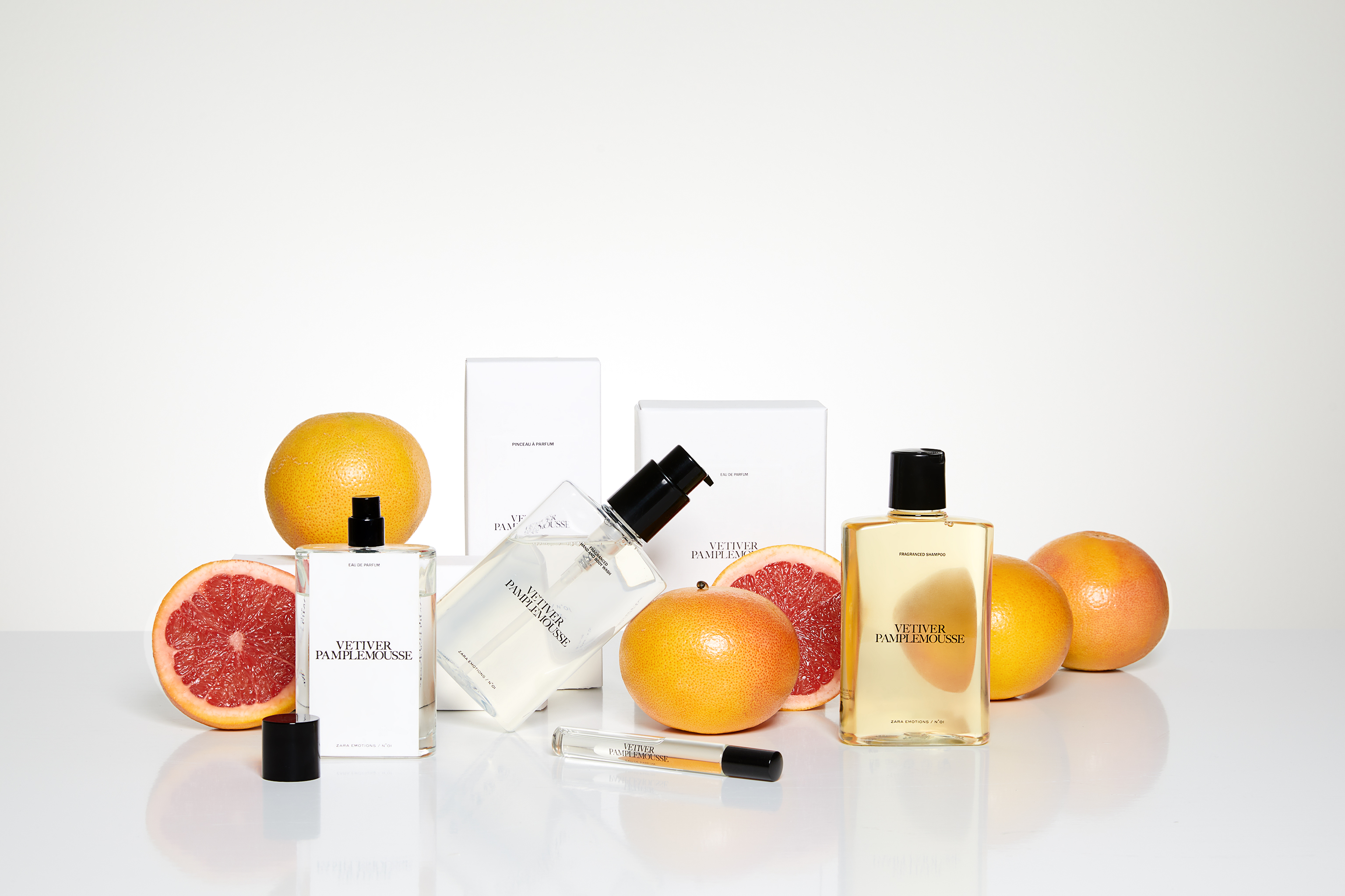The Zara Emotions Collection by Jo Loves, created by the perfumer Jo Malone.