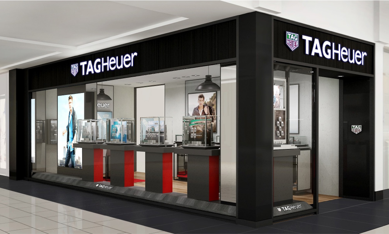 Tag Heuer's new Roosevelt store