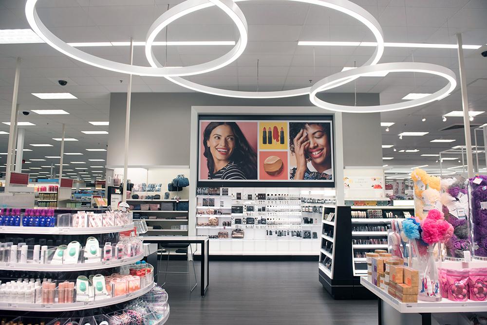 Target store beauty department