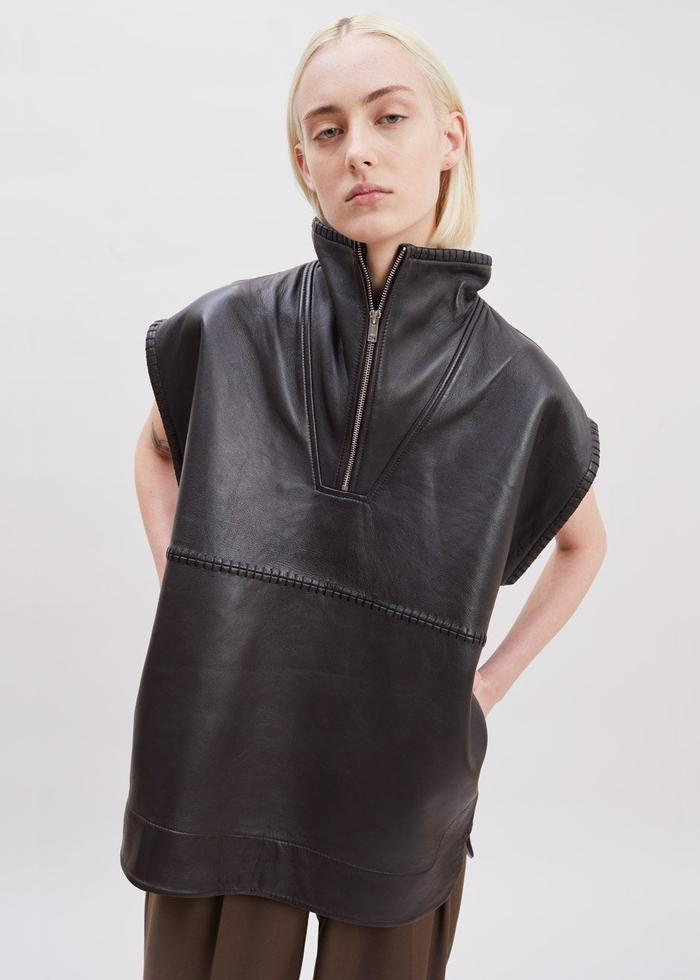 Christmas Gift 2020 Ganni Leather Anorak Frankie Shop