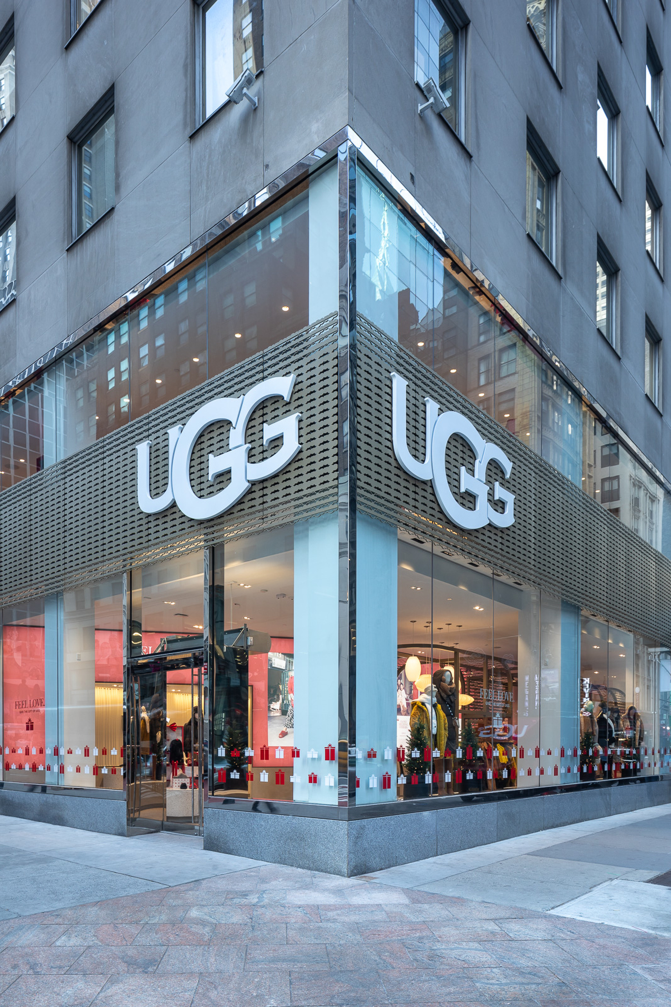 A look at new Ugg store.