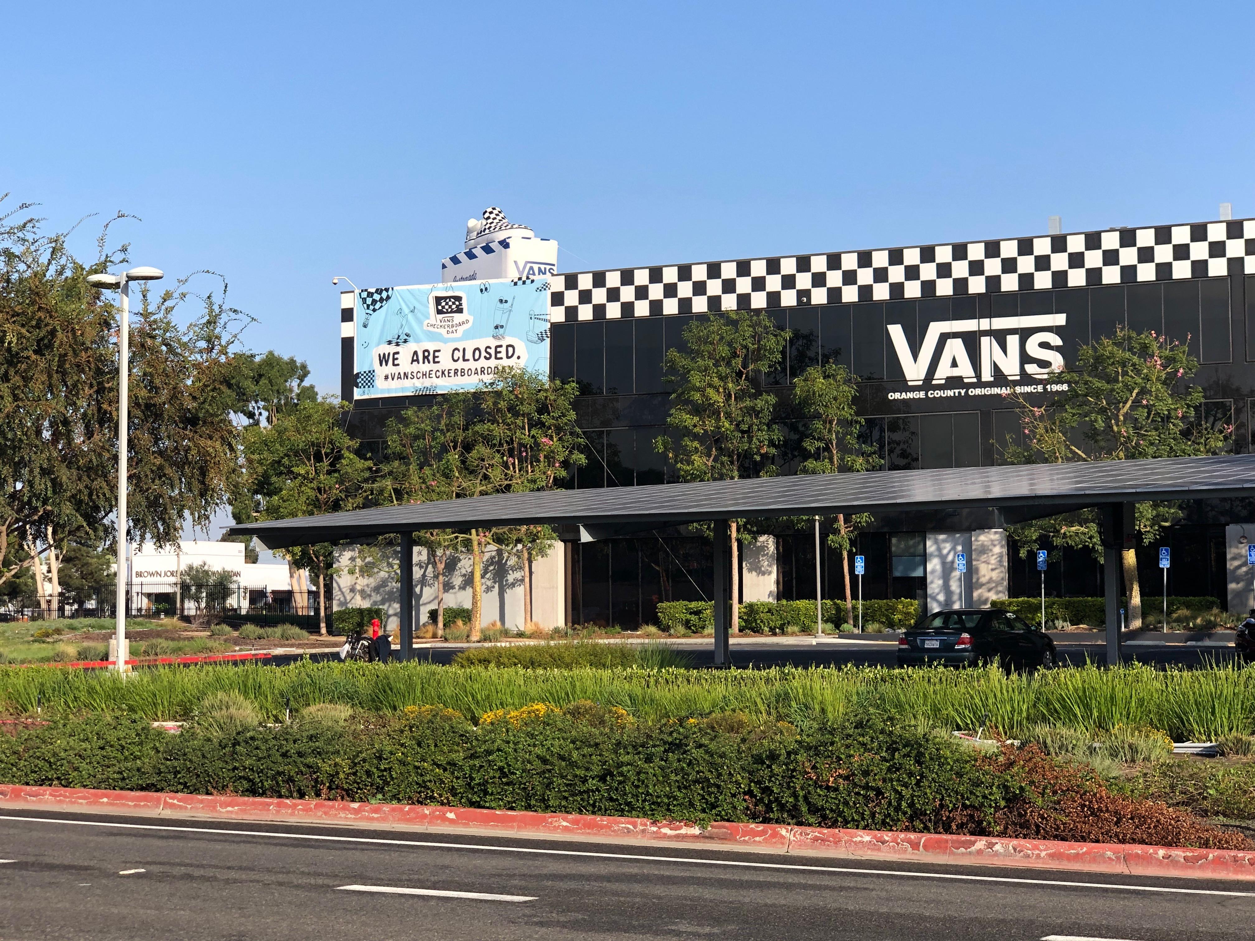 The Vans headquarters in California.