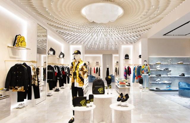 Versace new flagship at Dubai Mall