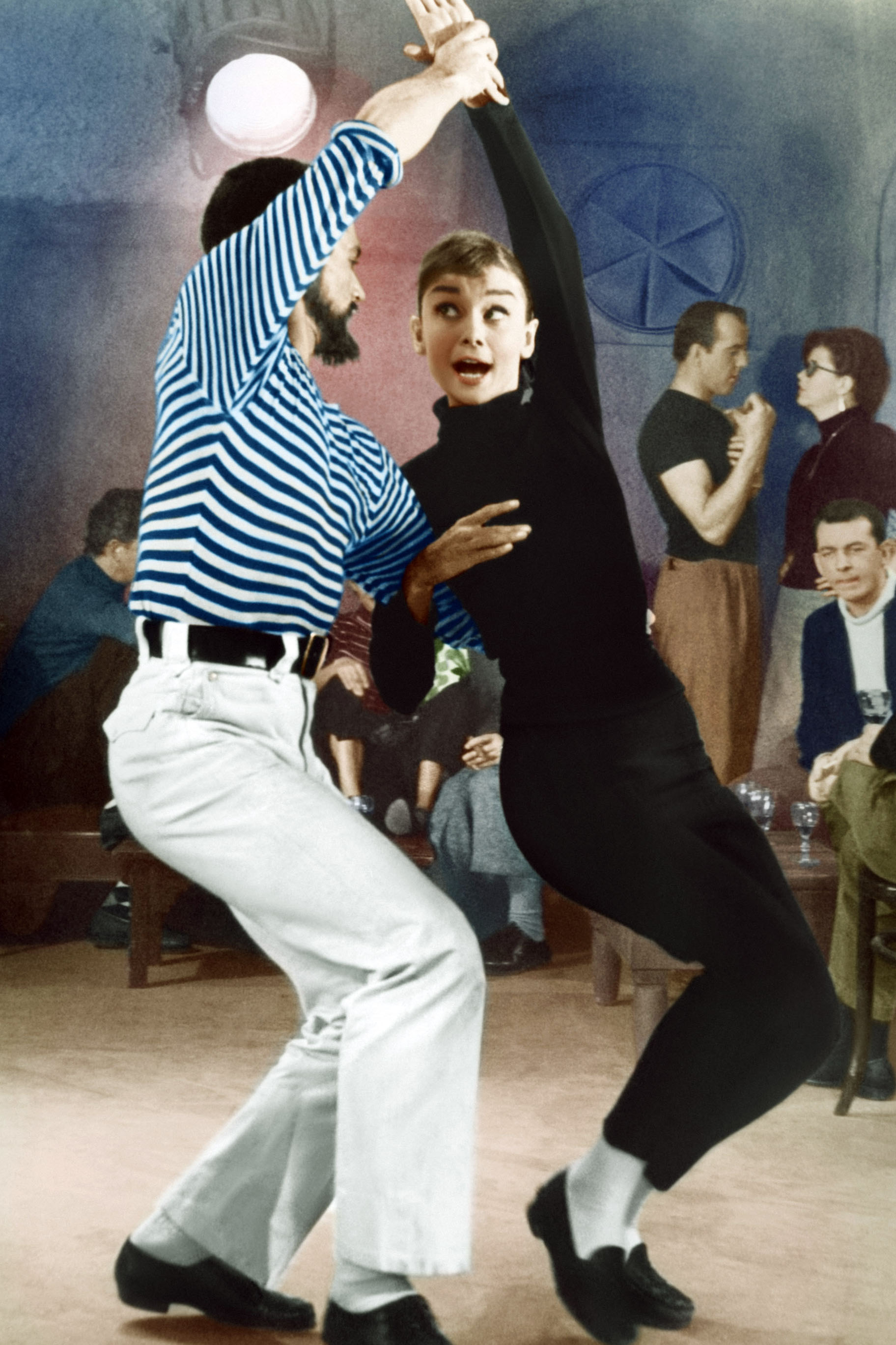 Audrey Hepburn in 'Funny Face', 1957.