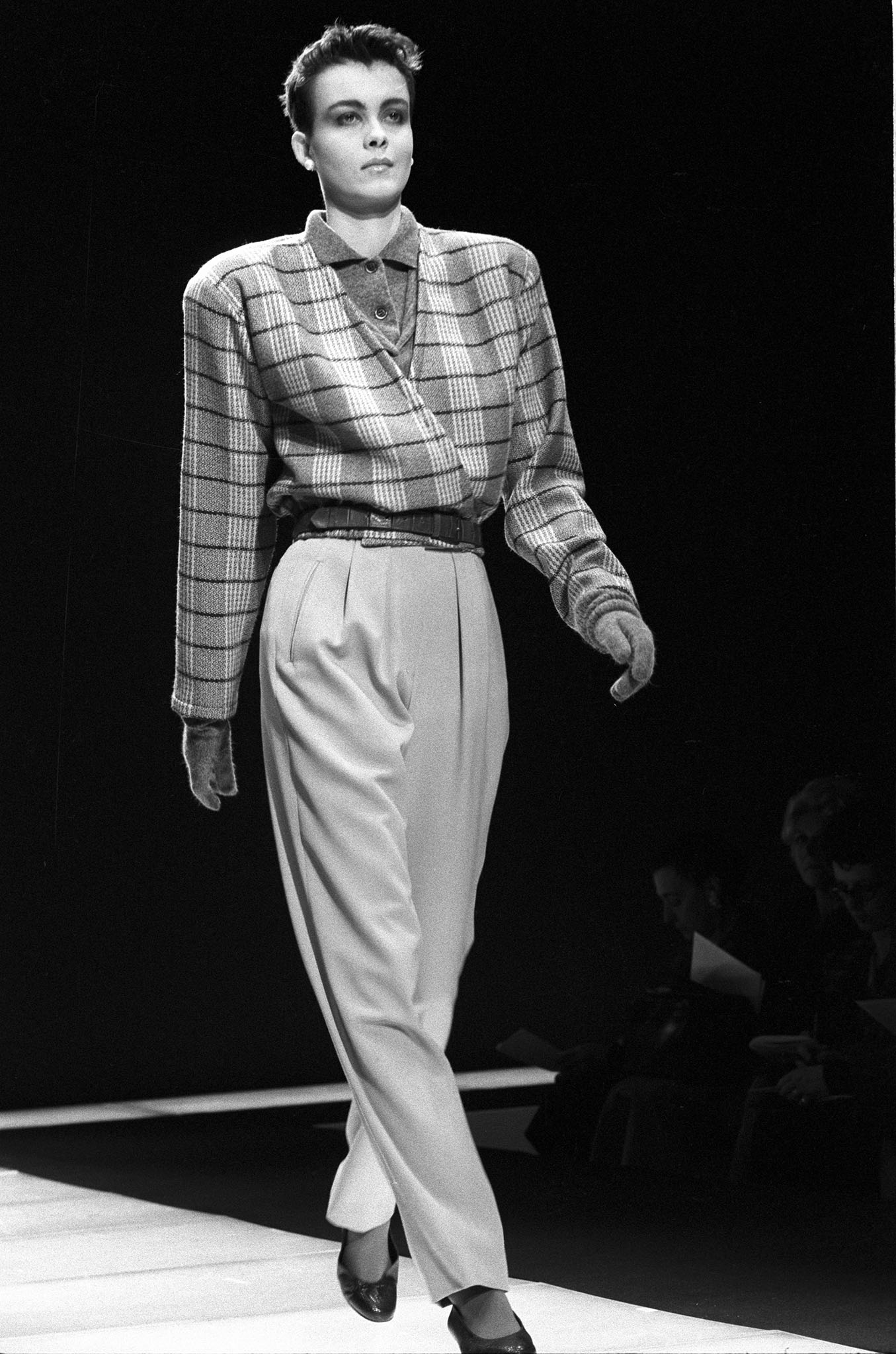 Giorgio Armani Fall 1985 RTW.