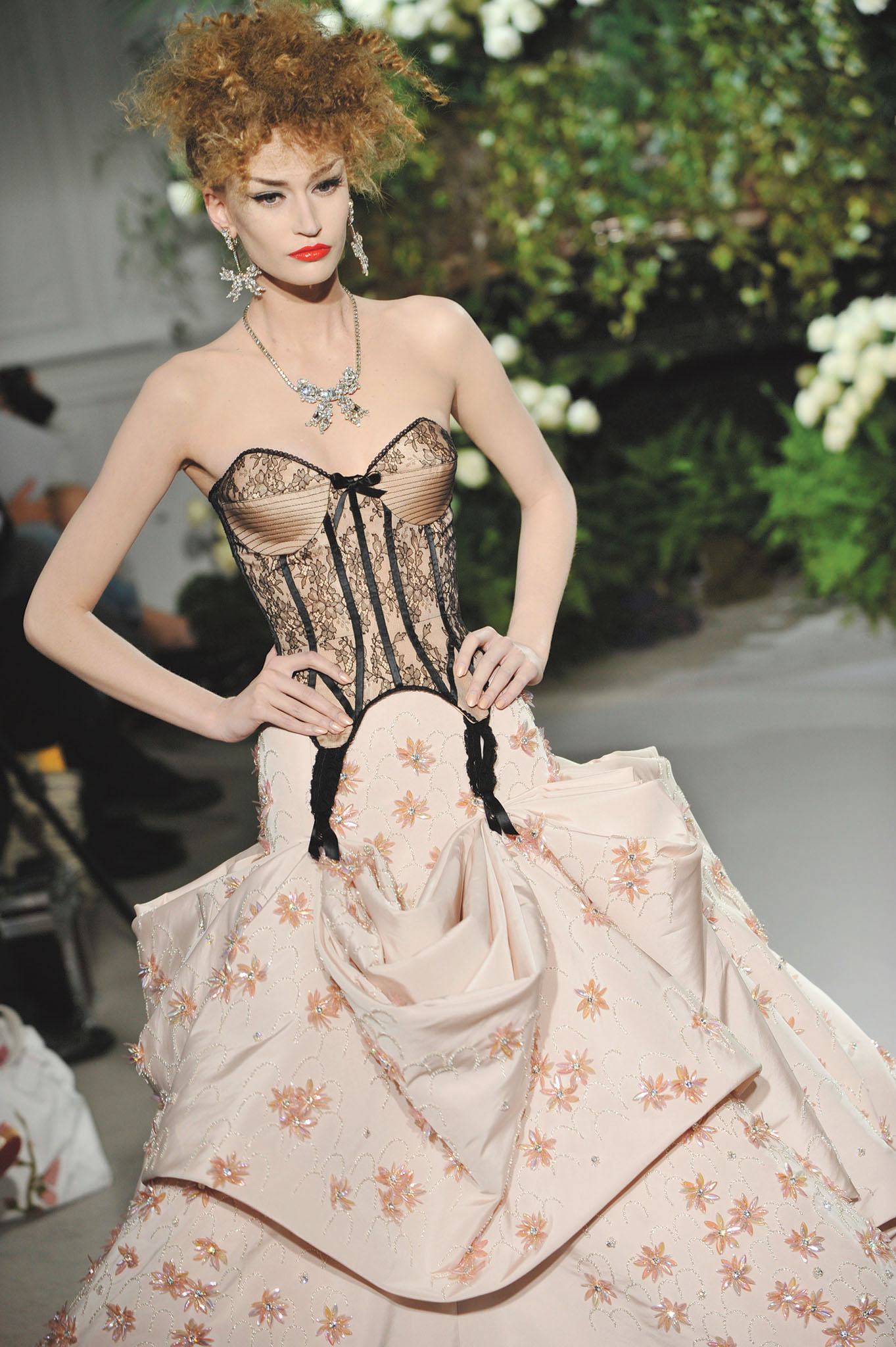 Fall 2009 Couture show in Paris, France for Christian Dior designed by John Galliano.