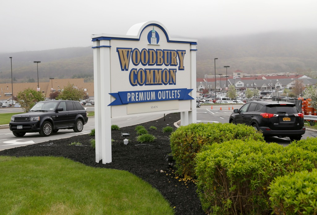 Woodbury Common Premium Outlets.