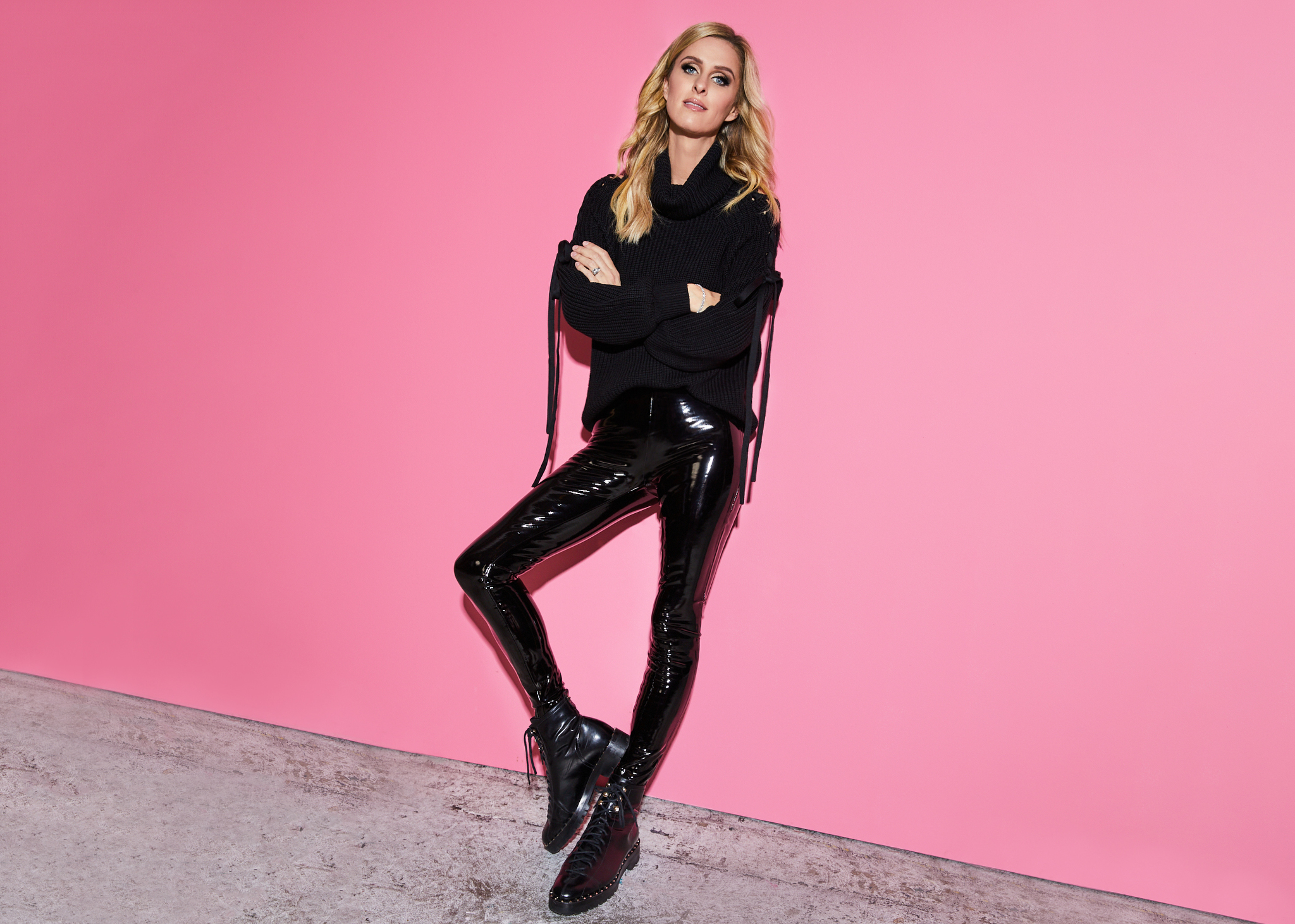 Nicky Hilton for Alice + Olivia Casual For A Cause.