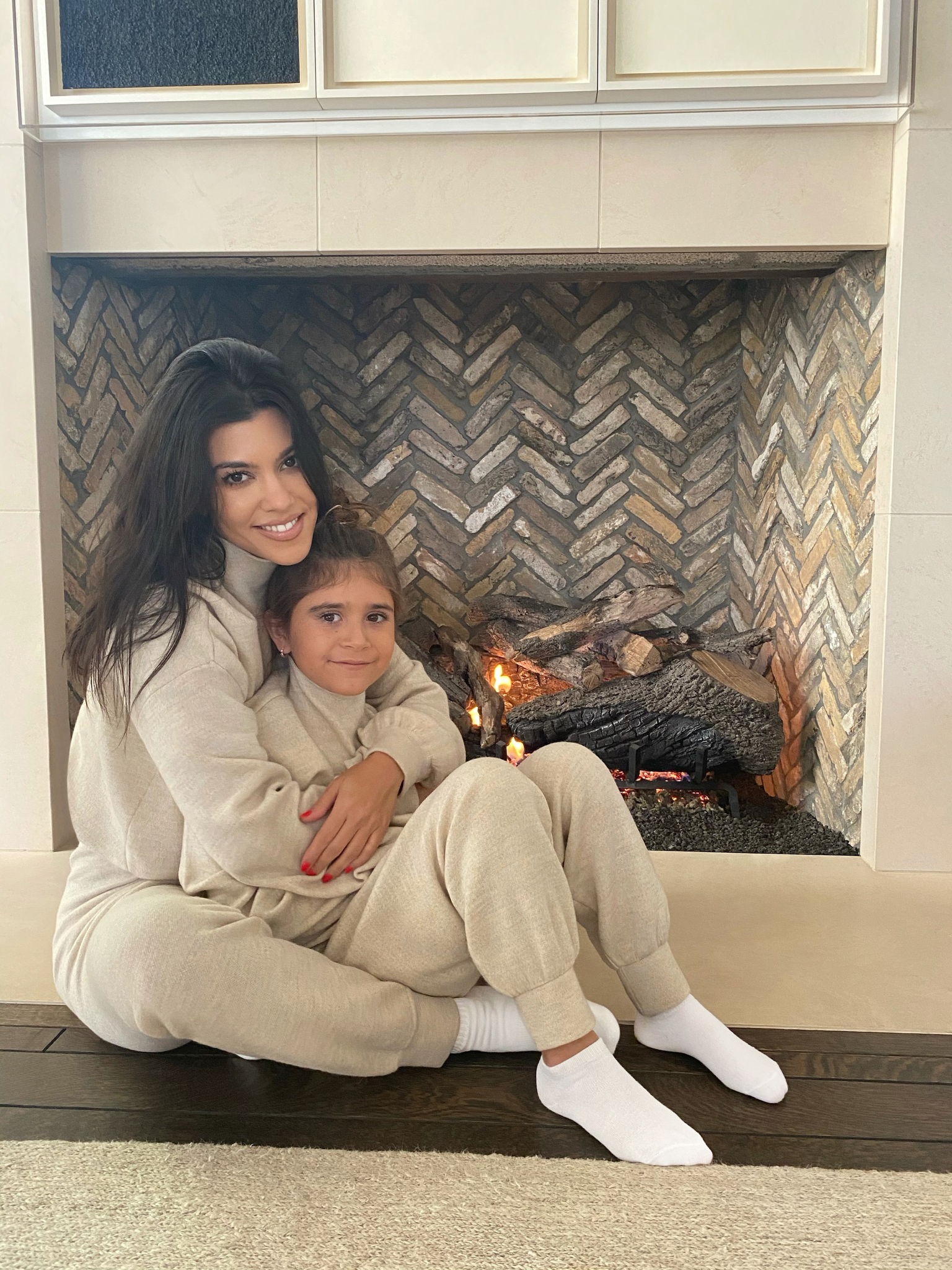 Kourtney Kardashian for Alice + Olivia Casual For A Cause.