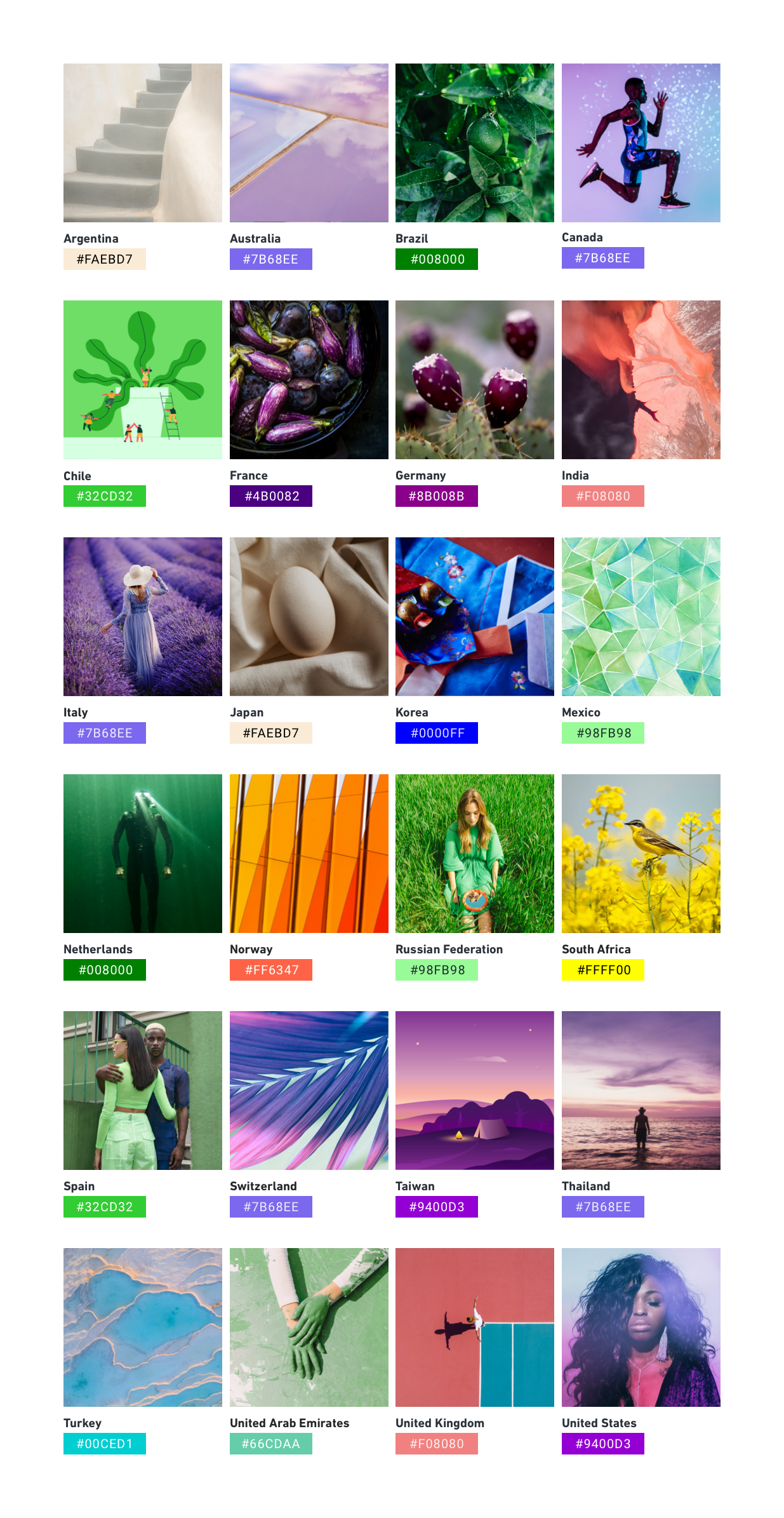 Biggest Colors Trends of 2021