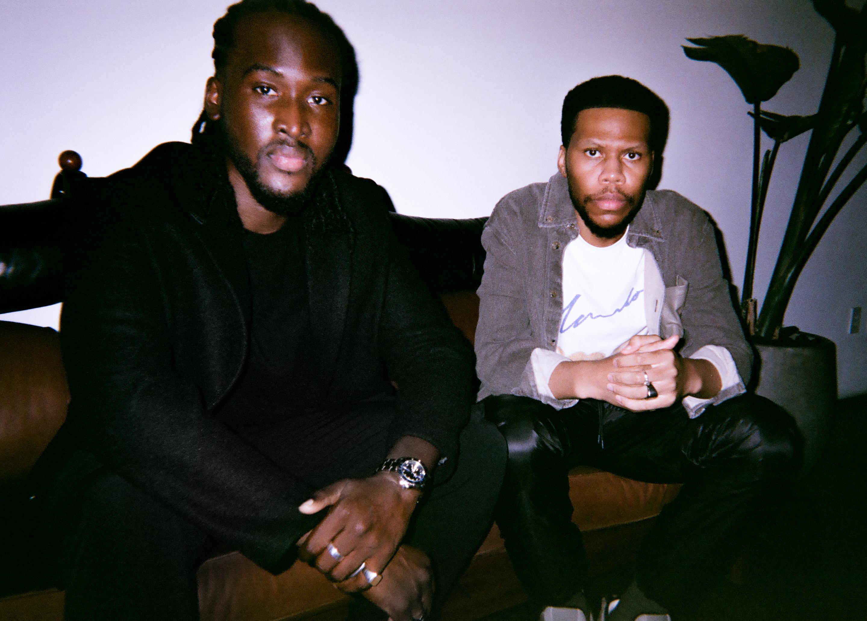 Blacktag founders Ousman Sahko and Akin Adebowale