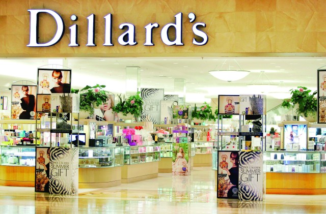 The beauty department at Dillard's is shown at Fashion Show Mall Wednesday, May 23, 2012, in Las Vegas (Ronda Churchill/Freelance)