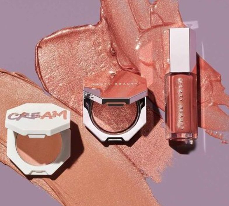 fenty beauty, fenty glow trio