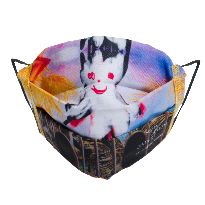 Harmony Korine mask design.