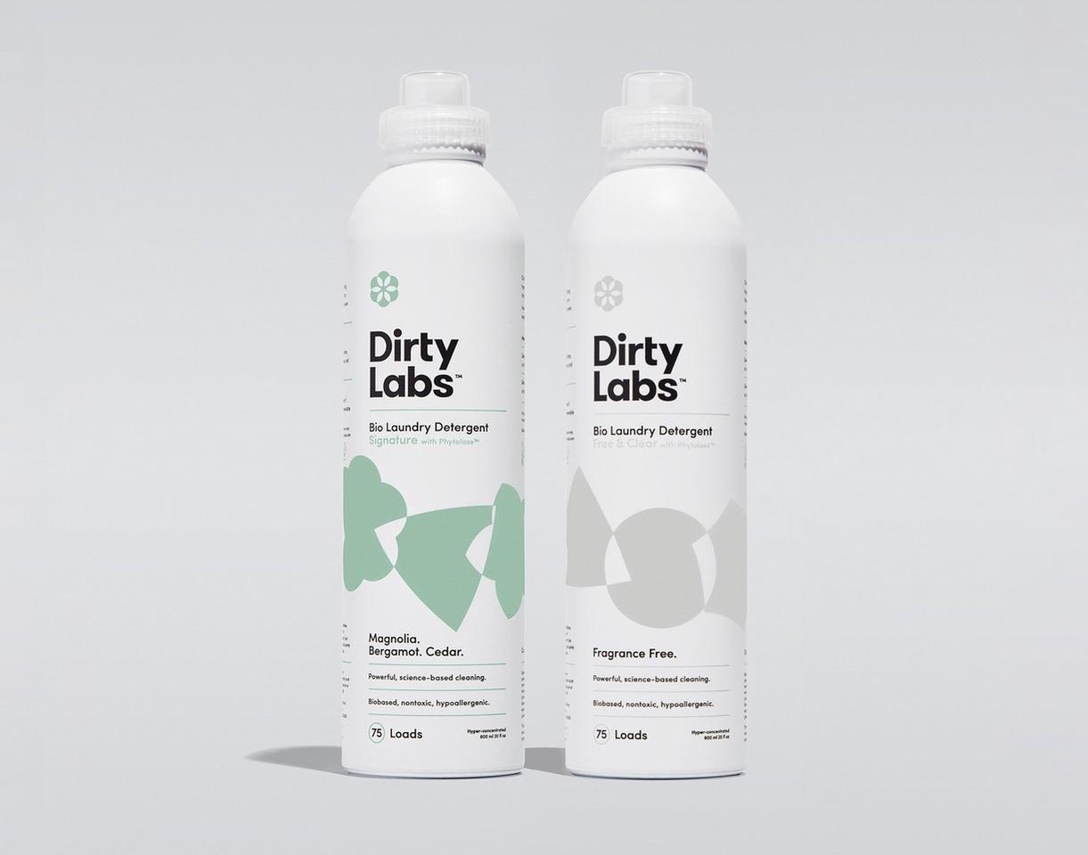 Dirty labs, sustainability, washing, laundry,