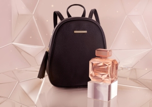 JLO Promise with black backpack