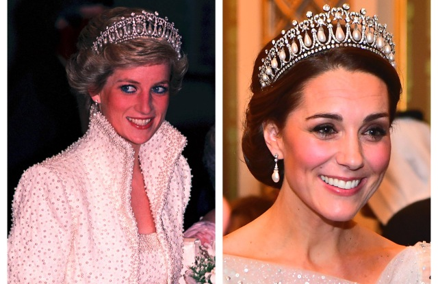 13 Times the Duchess of Cambridge Channeled Princess Diana's Style