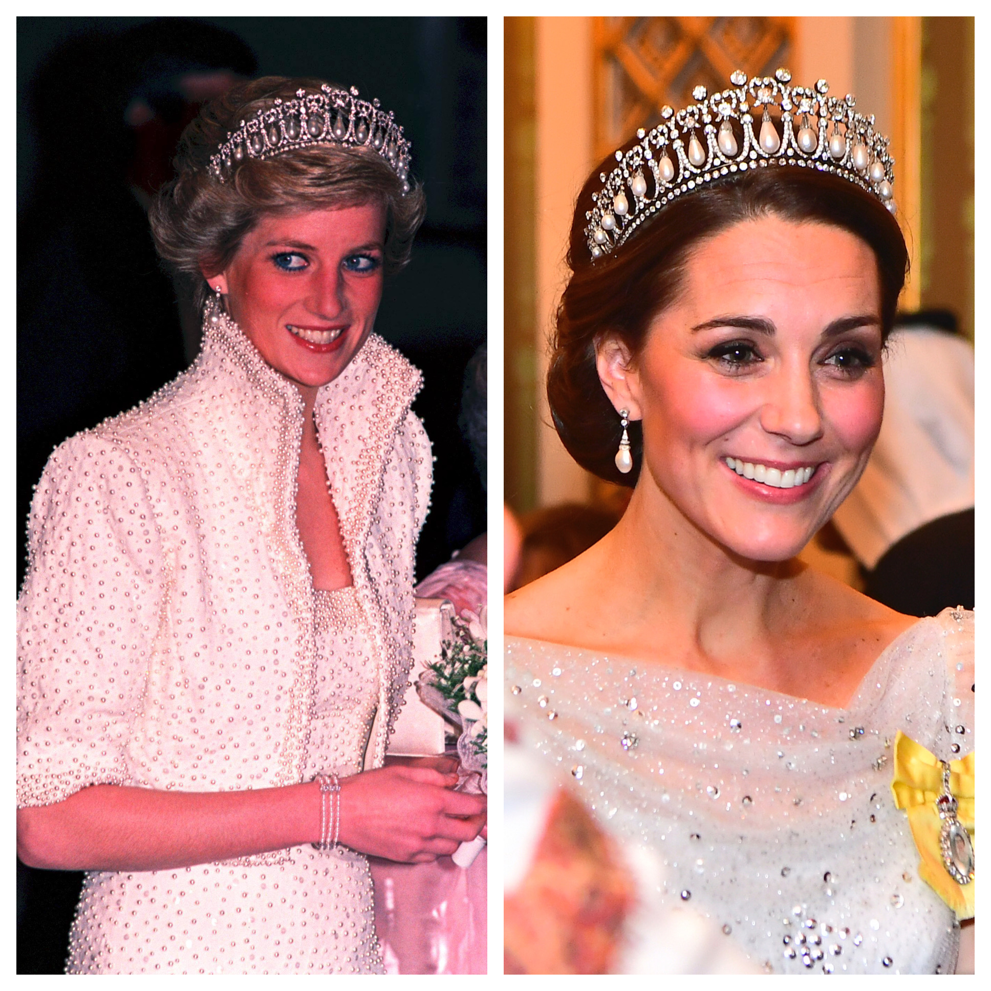 Photos of Kate Middleton Channeling Princess Diana's Style