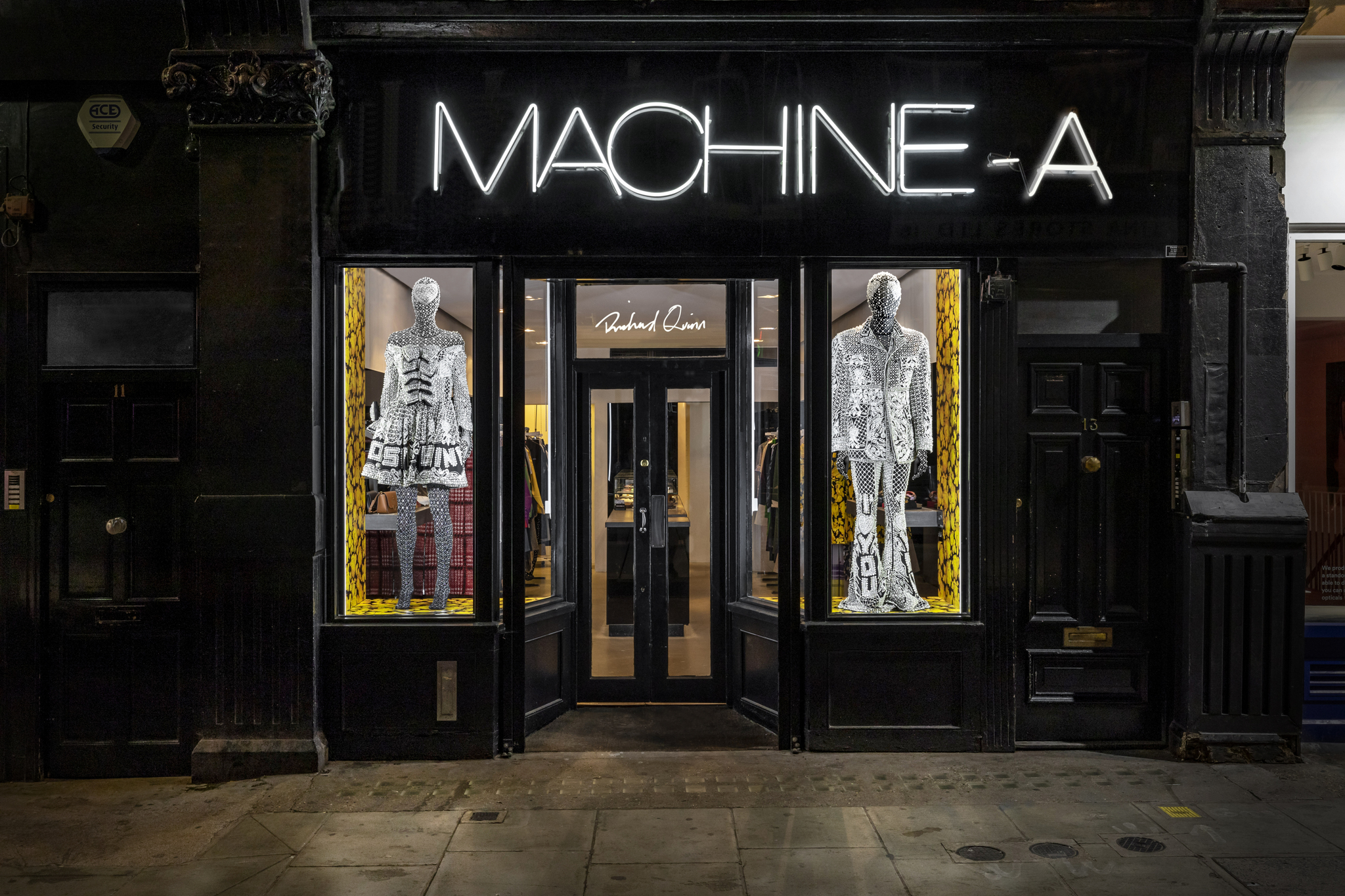 Richard Quinn window takeover at Machine-A earlier this year.
