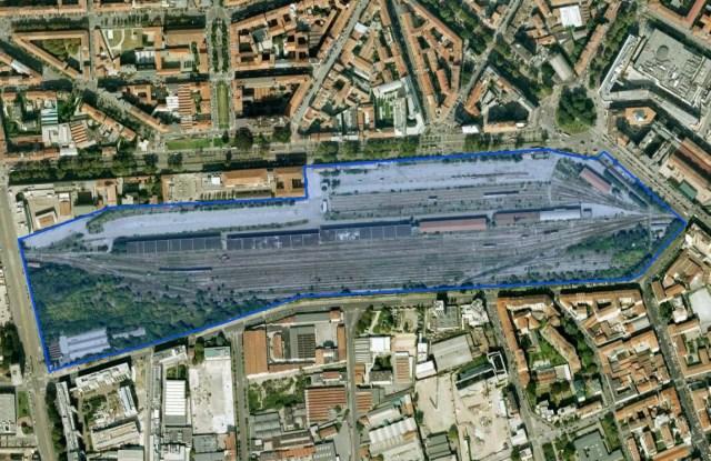 The Scalo Porta Romana area.