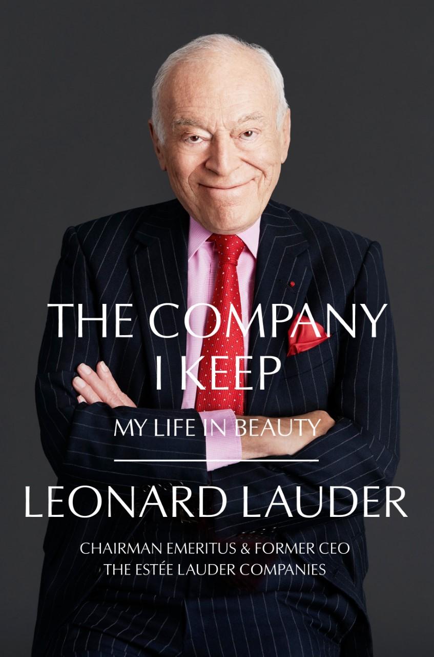 Leonard A. Lauder's book cover.