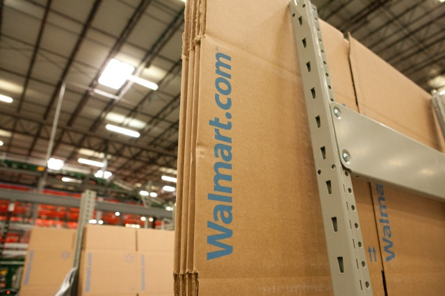 The retailer is prioritizing rapid delivery options, including its express service, as it competes with Amazon and others.