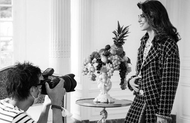 Charlotte Casiraghi Chanel campaign