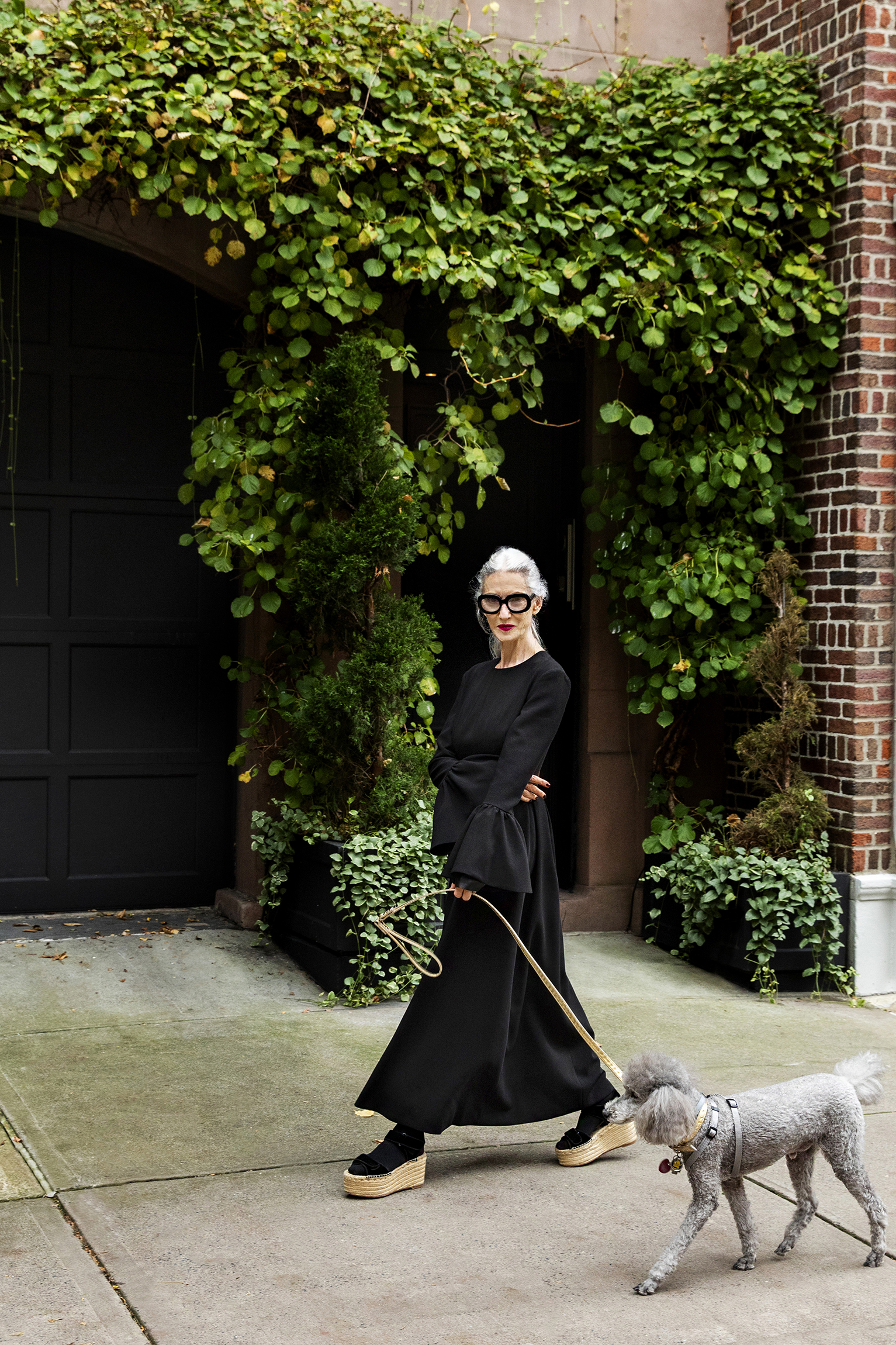 "Linda Rodin wears Huishan Zhang in the ""Lessons we've learnt in Lockdown"" visual portfolio."
