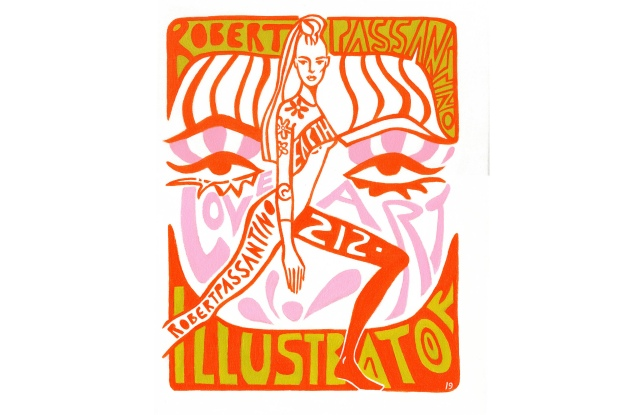 Pop art poster by Robert Passantino.
