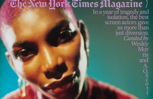 "Michaela Cole covers New York Times Magazine's annual ""Great Performers"" issue."