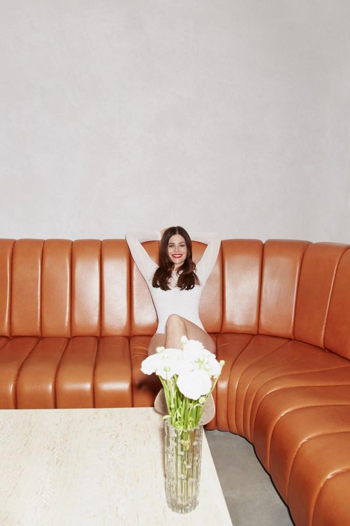 A look from Hervé Léger X Julia Restoin Roitfeld