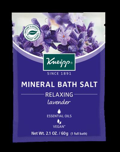 Christmas Gifts 2020 Kneipp Mini Lavender Mineral Bath Salt