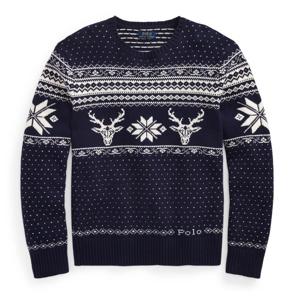 Ralph Lauren Reindeer Long Sleeve Sweater