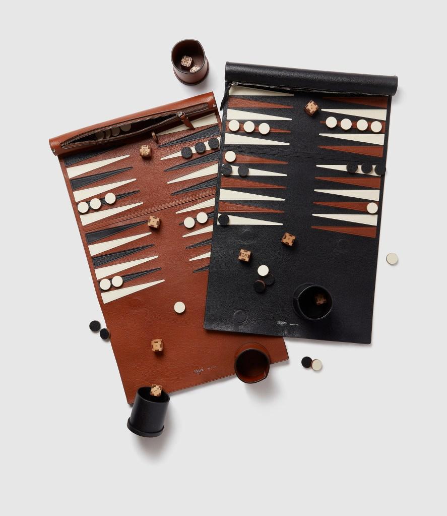 Christmas Gifts 2020 MétierLondon Travel Backgammon Set
