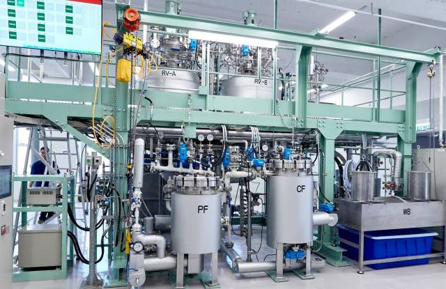The hydrothermal separation treatment, which is also known as The Green Machine, is developed by The Hong Kong Research Institute of Textile and Apparel (HKRITA) with H&M Foundation.