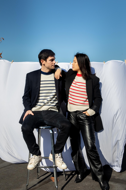 Public Habit x Sophia Li Unisex Sweater