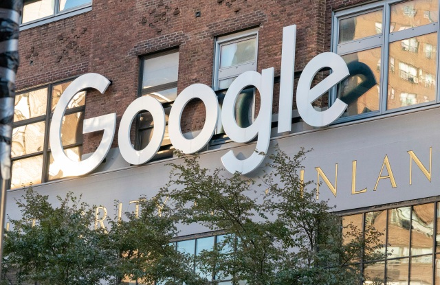 Google's New York headquarters in 2020.