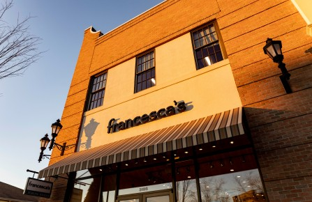 Francesca's store and logo seen at Levis Commons shopping center. (Photo by Stephen Zenner / SOPA Images/Sipa USA)(Sipa via AP Images)