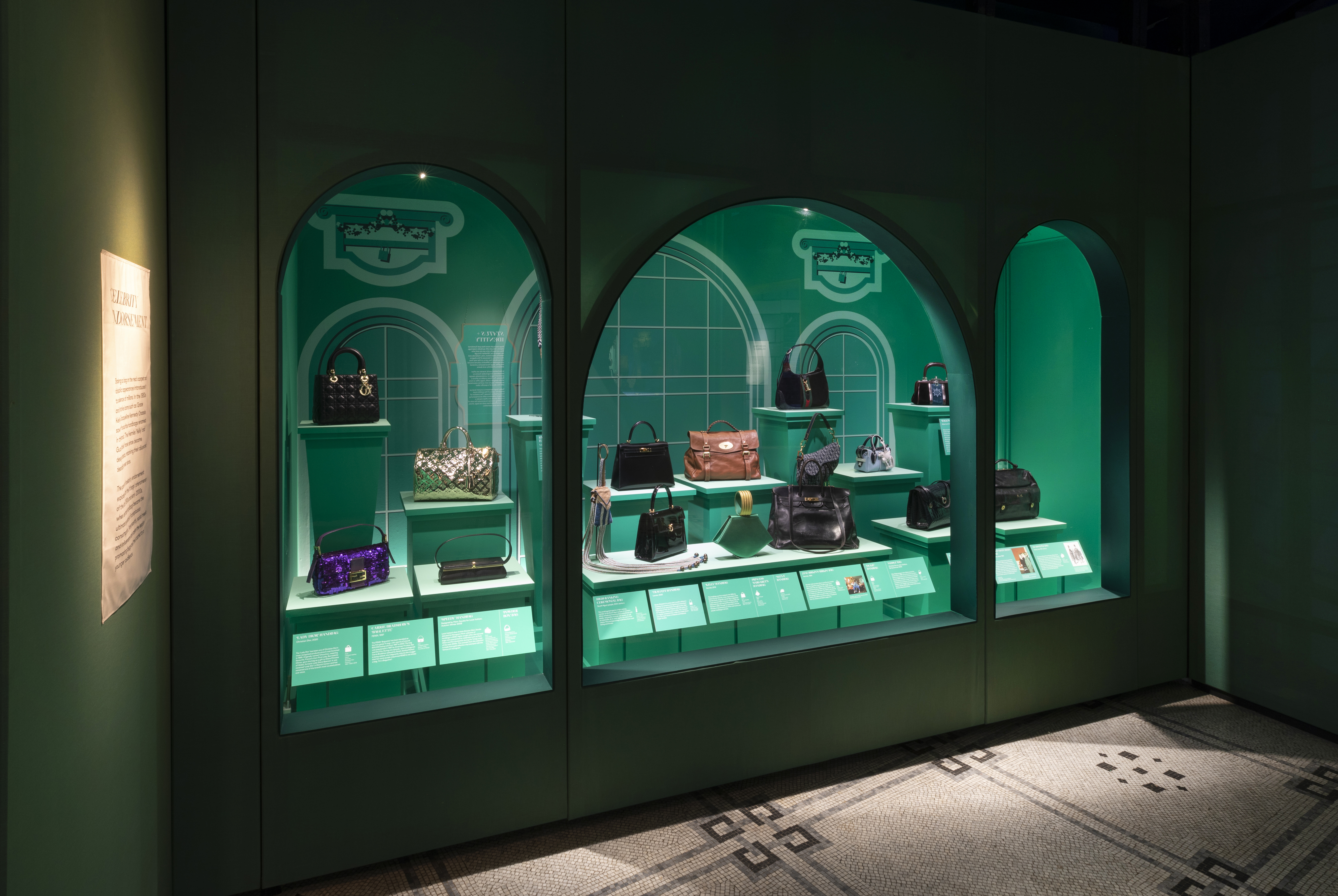 "Inside the ""Bags: Inside Out"" exhibition at the V&A museum"