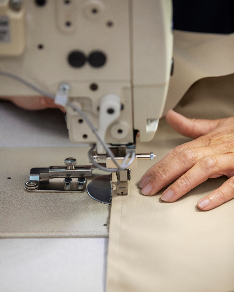 Burberry is working with the BFC on a fabric donation project called ReBurberry.
