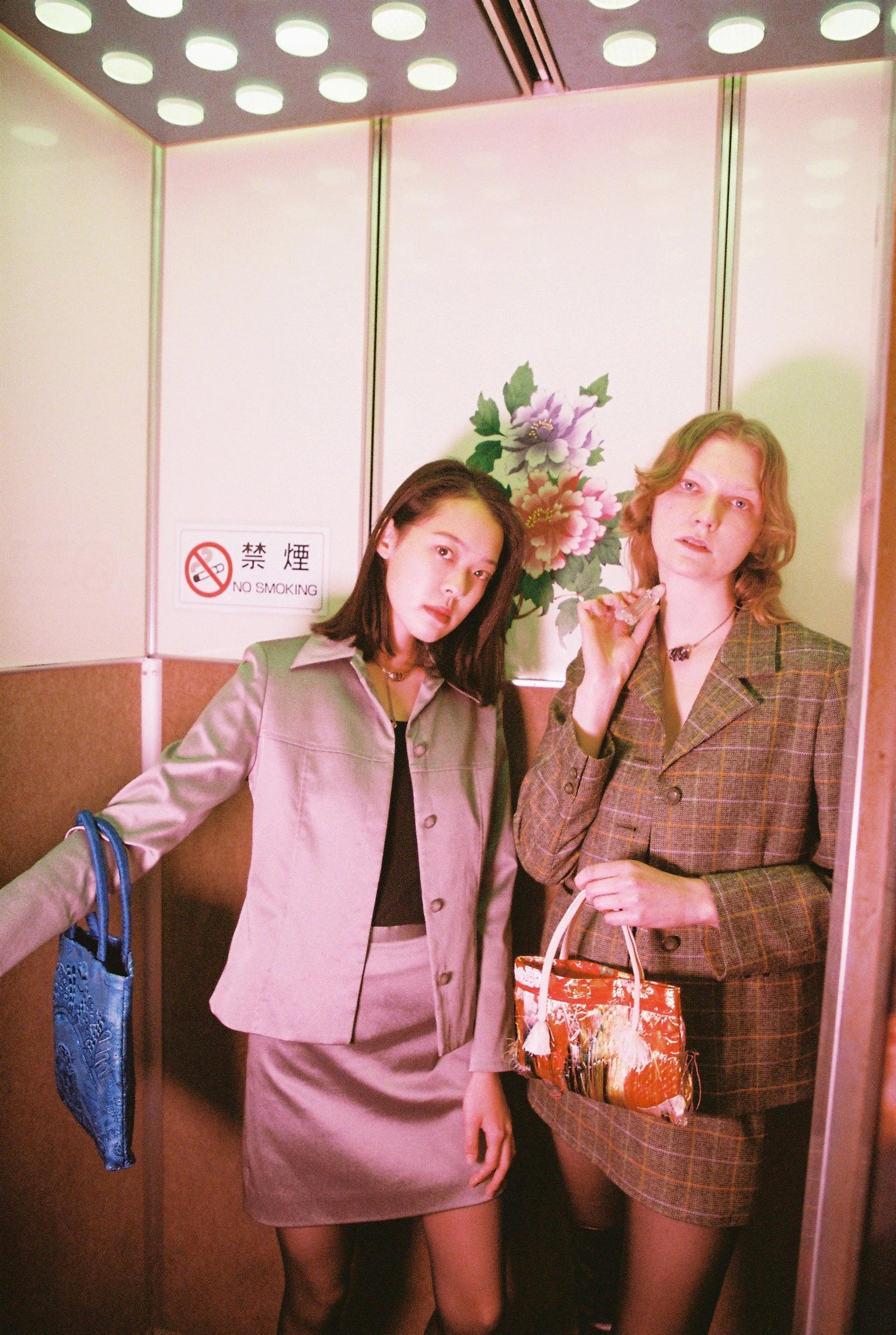 Hanono Momose and Marland Backus for Café Forgot's perfume.