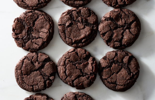 """Chocolate Sugar Cookies from """"A Good Bake"""" by Melissa Weller."""