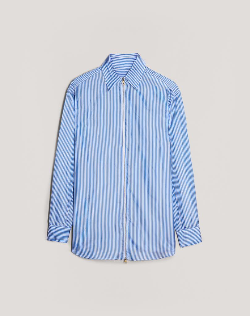 Dunhill Striped zip shirt
