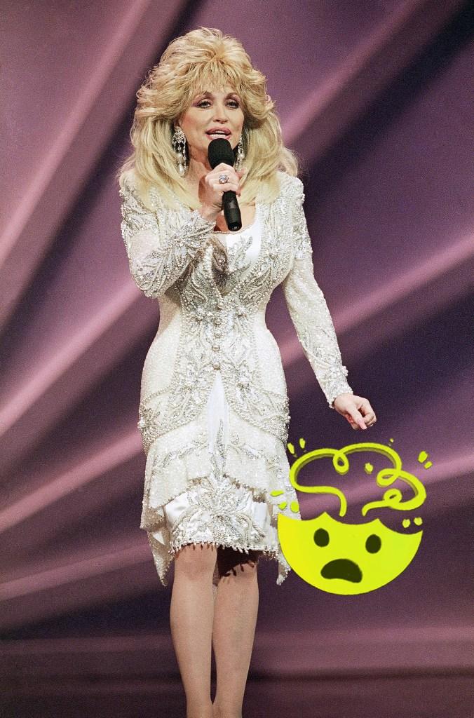 Dolly Parton, 1993.