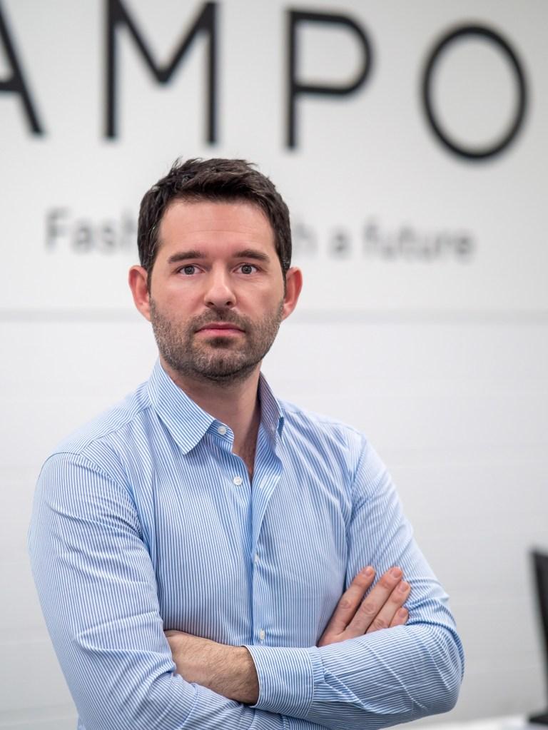 Lampoo founder Enrico Trombini