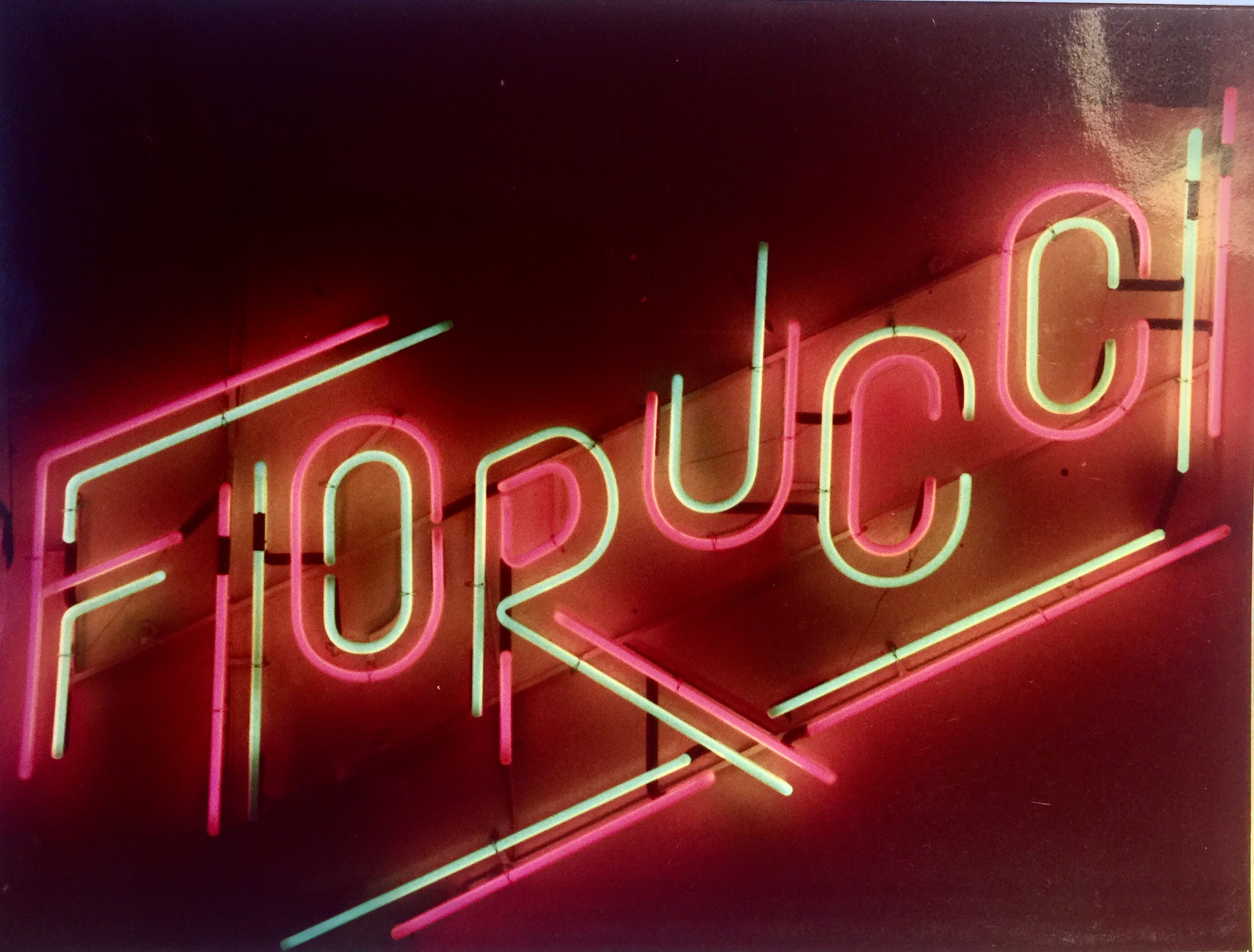 Fiorucci's store in Milan.