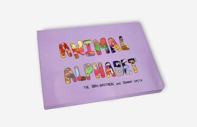 """""""Animal Alphabet"""" illustrated by the Haas brothers."""