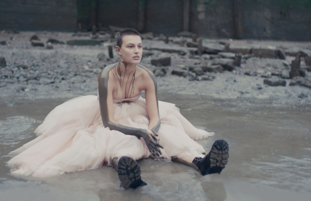 "Alexander McQueen ""First Light"" still."