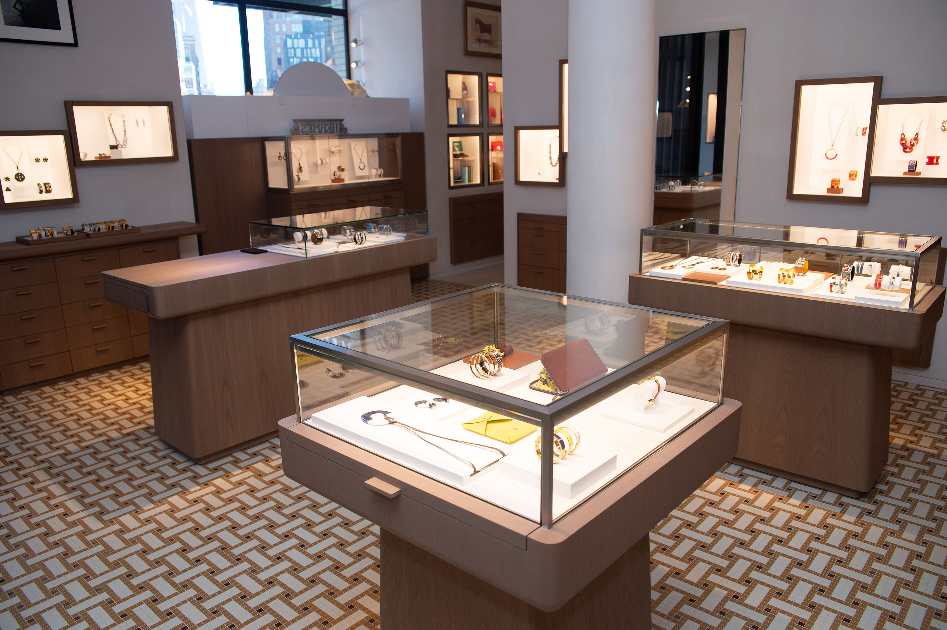 Hermès opened a store in Manhattan's Meatpacking District in 2019.