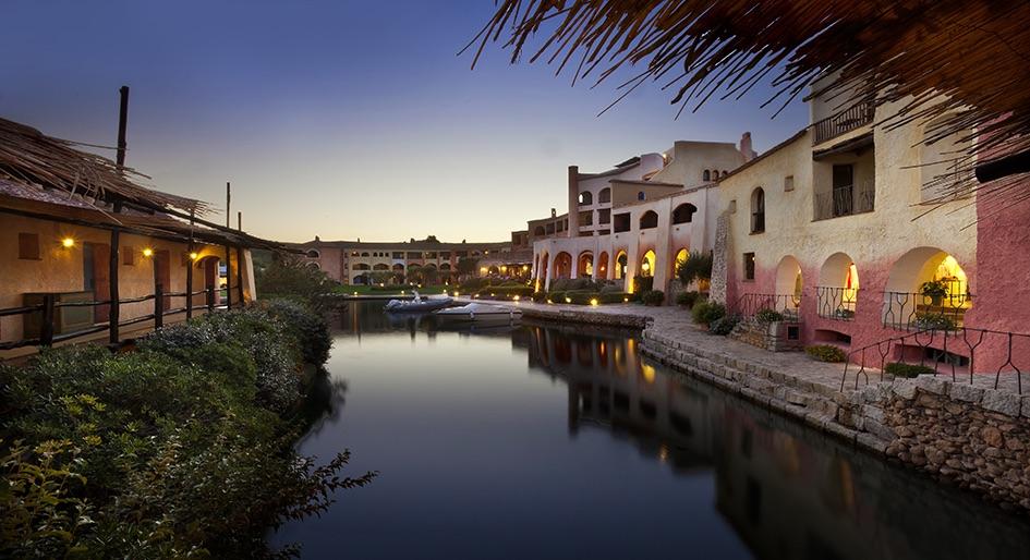 The Cala di Volpe hotel on Sardinia's Costa Smeralda